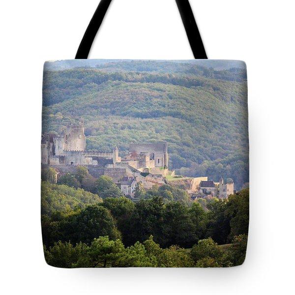 Chateau Beynac, France Tote Bag