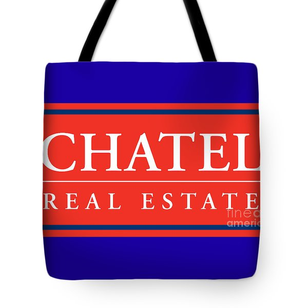 Tote Bag featuring the photograph Chatel Real Esate by Jost Houk