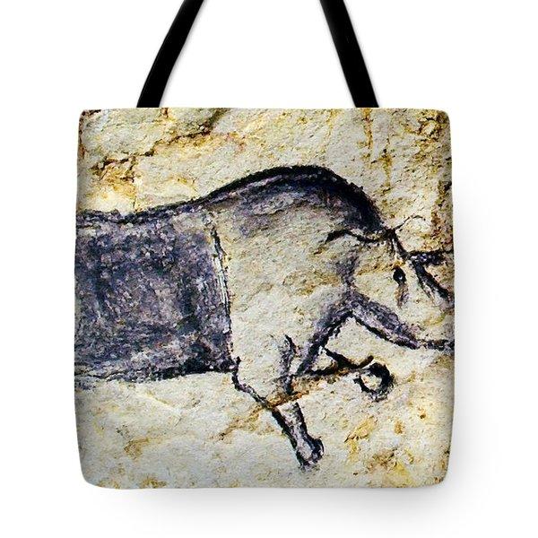 Chauvet Rhinoceros Tote Bag