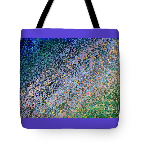 Tote Bag featuring the painting Check It Out by Corinne Carroll