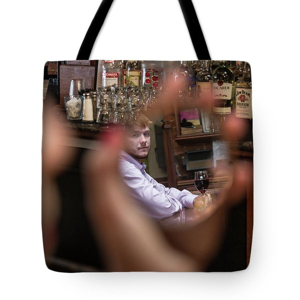 Checking Each Other Out Tote Bag