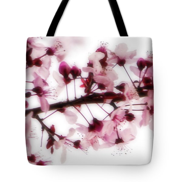 Cherry Triptych Center Panel Tote Bag
