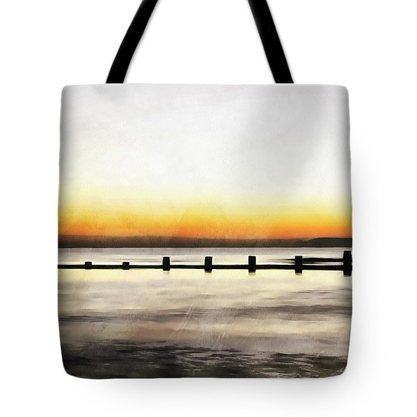 Tote Bag featuring the painting Chesapeake by Harry Warrick