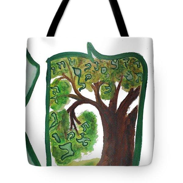 Chet, Tree Of Life  Ab21 Tote Bag