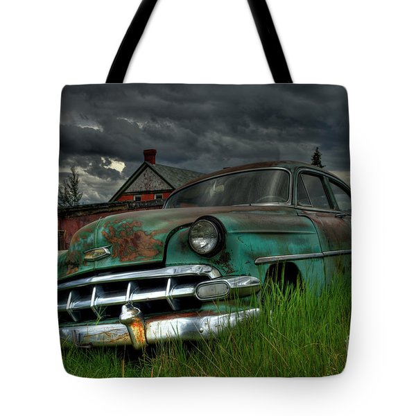 Chevy  Bel Air Tote Bag