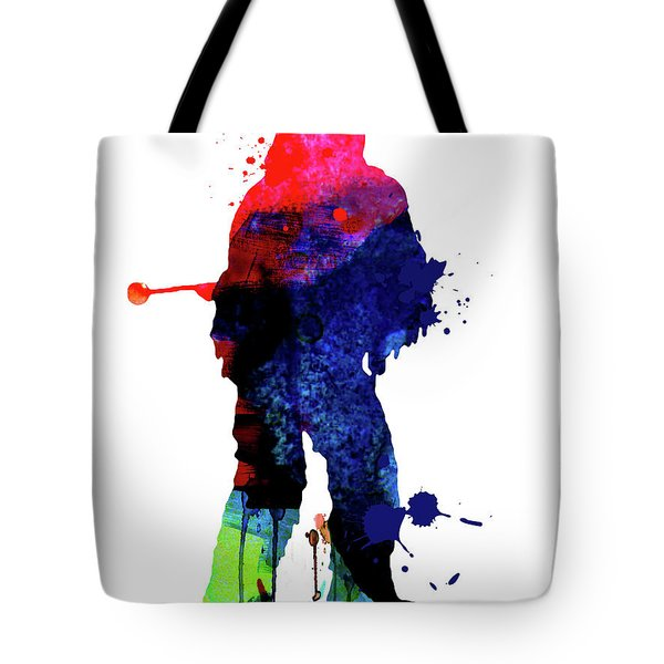 Chewbacca Cartoon Watercolor Tote Bag