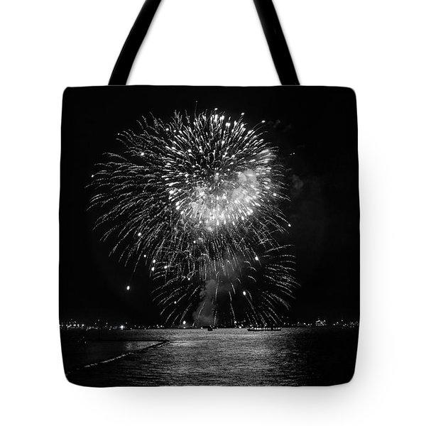 Chicago Fireworks  Tote Bag