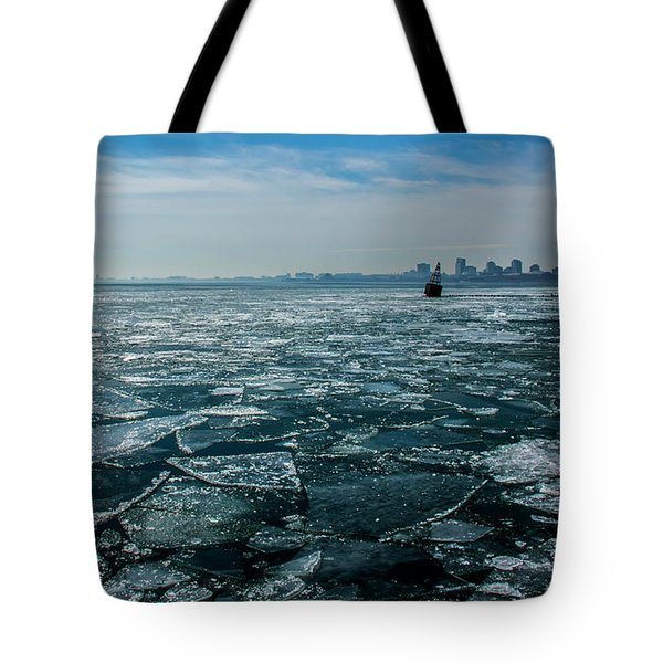 Chicago From Navy Pier 2 Tote Bag