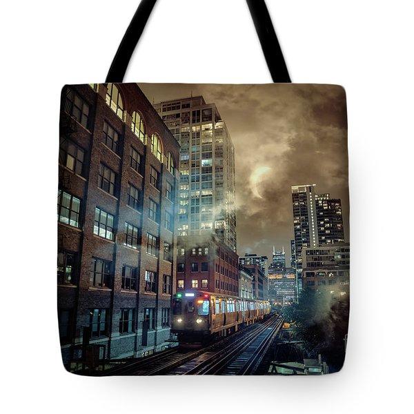 Chicago L Tote Bag