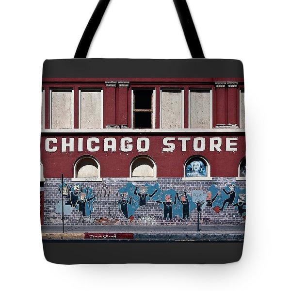 chicago graffiti tote bags fine art america. Black Bedroom Furniture Sets. Home Design Ideas