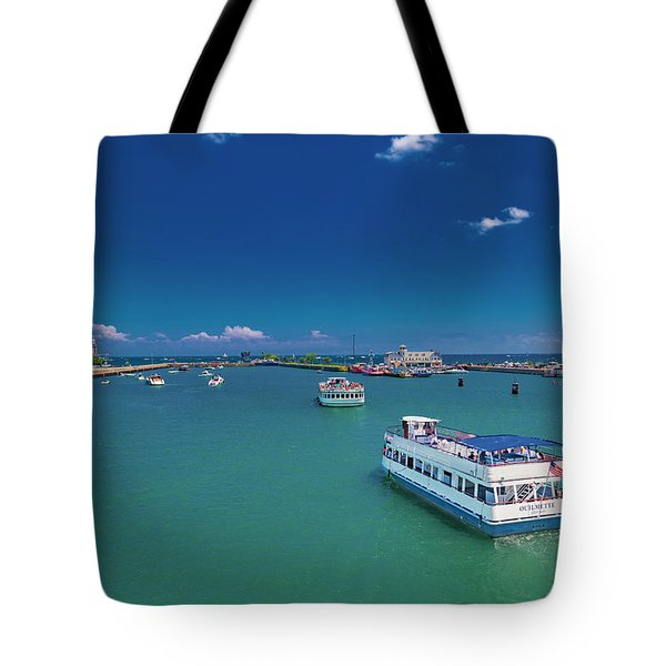 Chicago Peaceful Thoughts Tote Bag