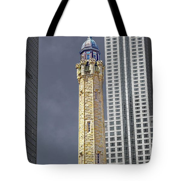 Chicago Sights Tote Bag