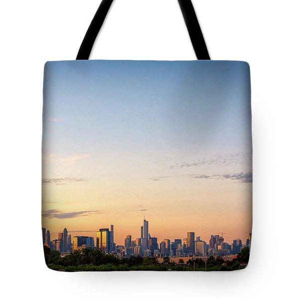 Chicago Sunrise Tote Bag