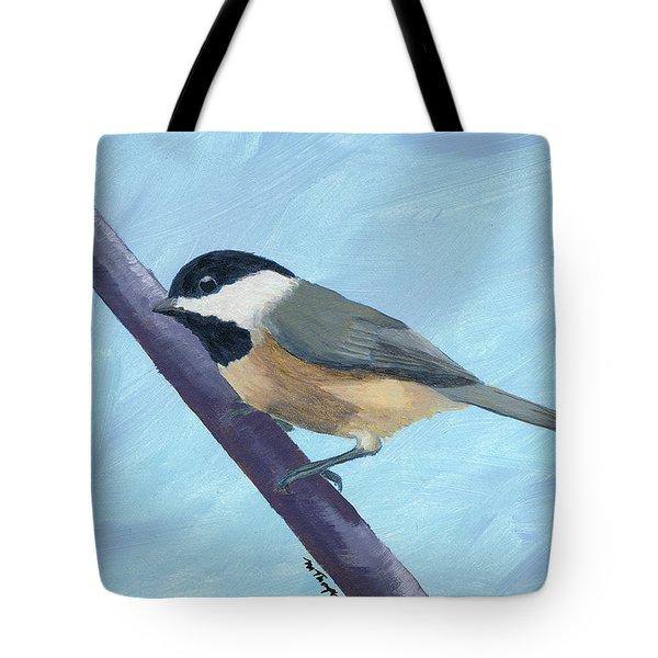 Chickadee 1 Tote Bag