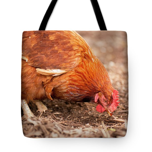 Chicken On The Farm Tote Bag