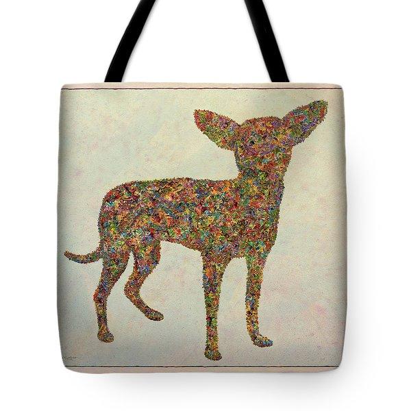 Chihuahua-shape Tote Bag