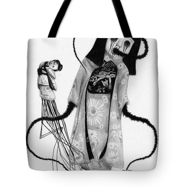 Chikako The Doll Girl Of Kanagawa - Artwork Tote Bag