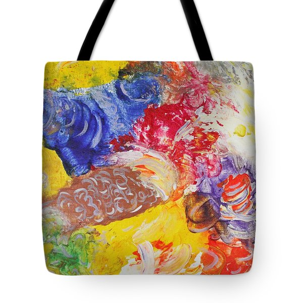 Child Laughter Tote Bag