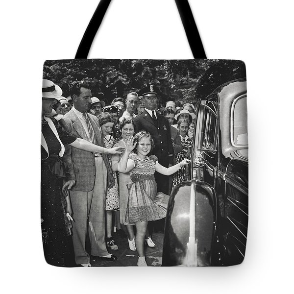 Child Star Shirley Temple Tote Bag