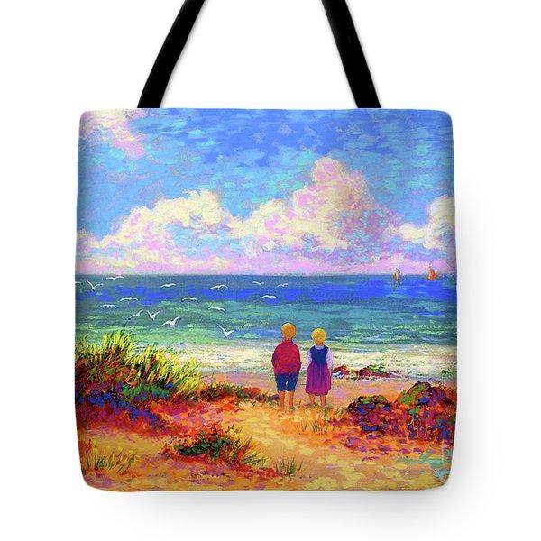 Children Of The Sea Tote Bag