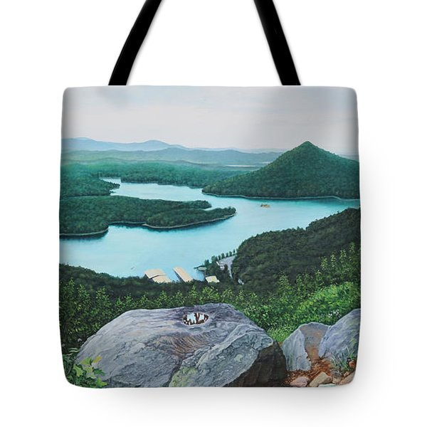 Chilhowee Overlook Tote Bag