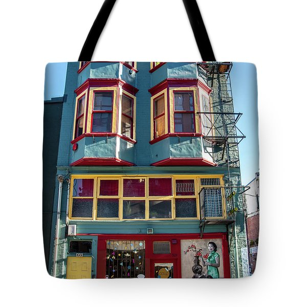 Tote Bag featuring the photograph Chinatown by Ross G Strachan