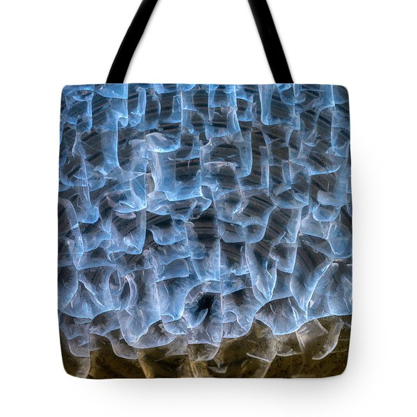 Tote Bag featuring the photograph Chiseled In Light by Michael Hubley