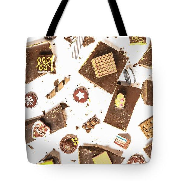 Chocolate Bar Break Tote Bag