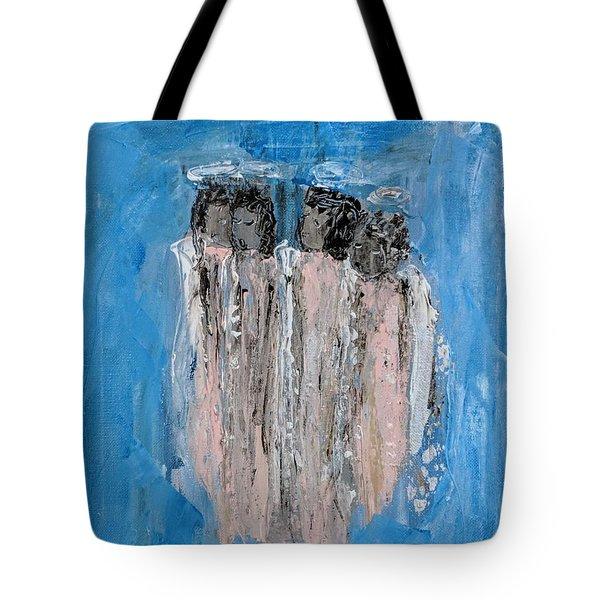 Choir Angels Tote Bag