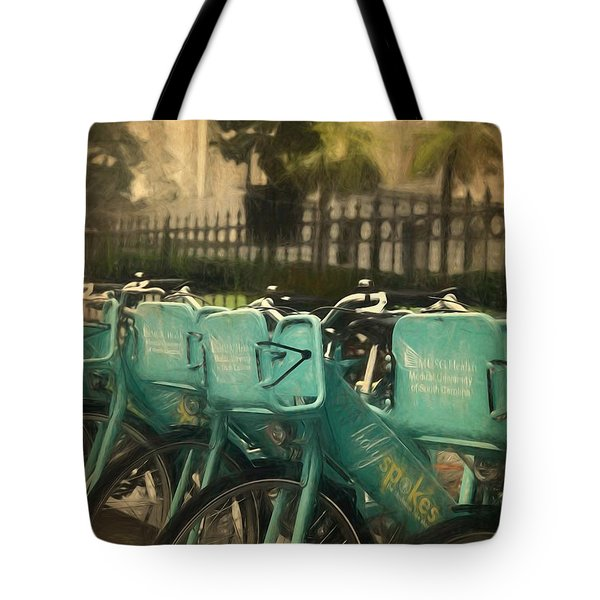 Choose Your Ride Tote Bag