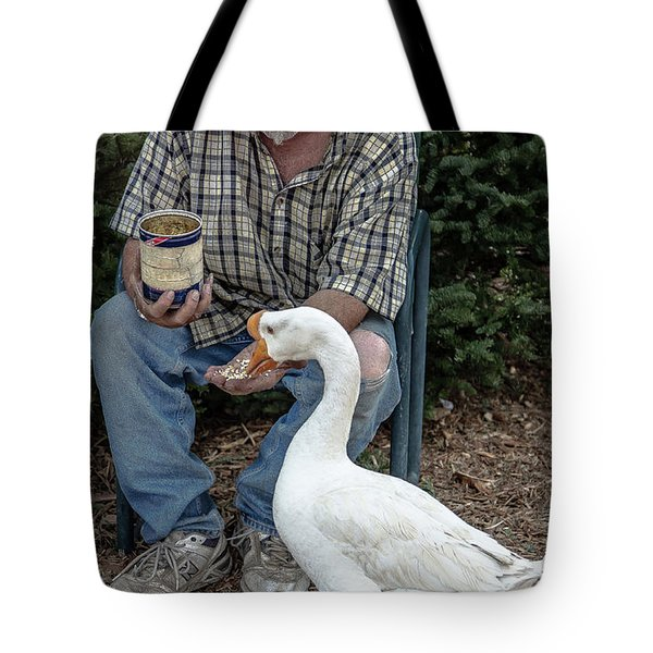 Chow Time Tote Bag