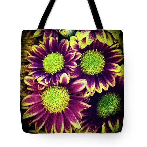 Chrisantemum Tote Bag