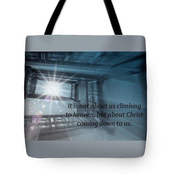 Christ Alone Tote Bag