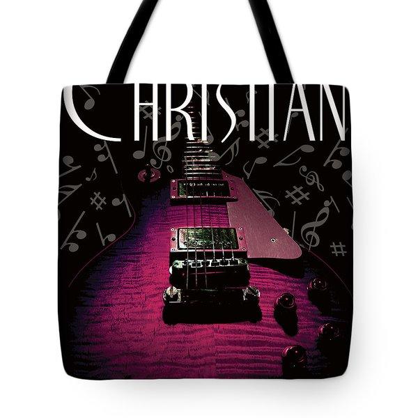 Christian Music Guita Tote Bag