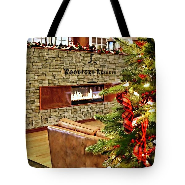 Christmas At Woodford Reserve Tote Bag
