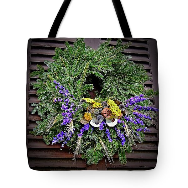 Tote Bag featuring the photograph Christmas Blues by Don Moore