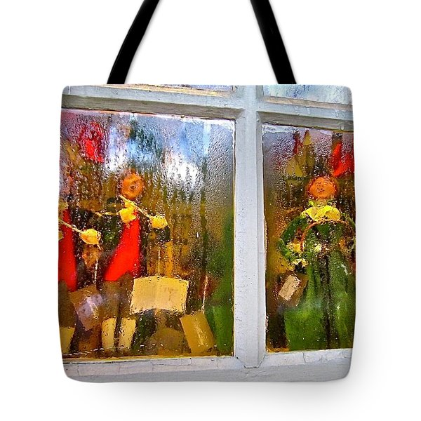 Tote Bag featuring the photograph Christmas Chorale by Don Moore
