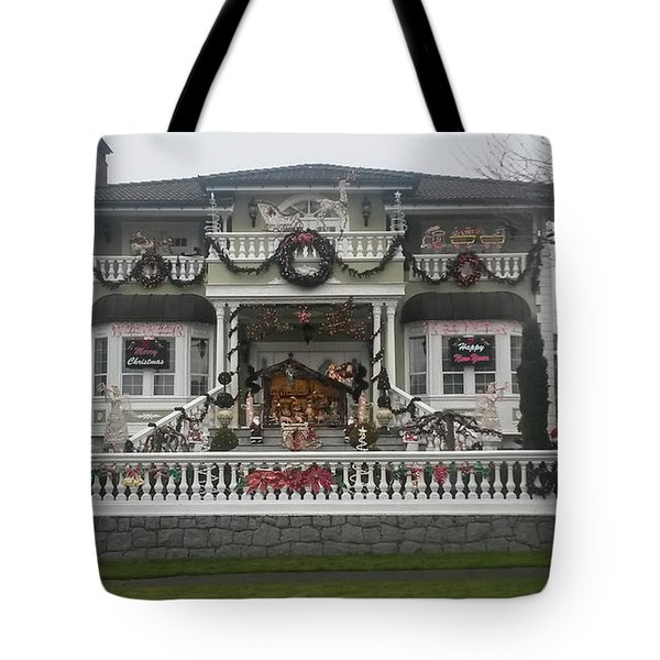 Tote Bag featuring the photograph Christmas Decoration by Juan Contreras