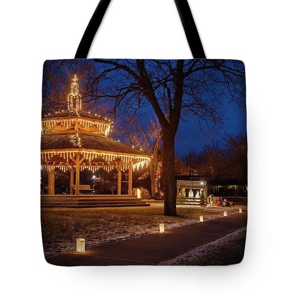 Christmas Eve In Dexter Tote Bag