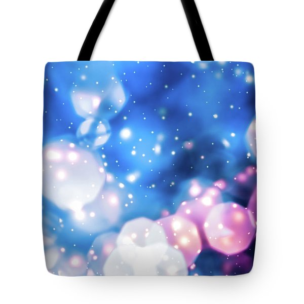 Tote Bag featuring the photograph Christmas Magic Iv by Anne Leven