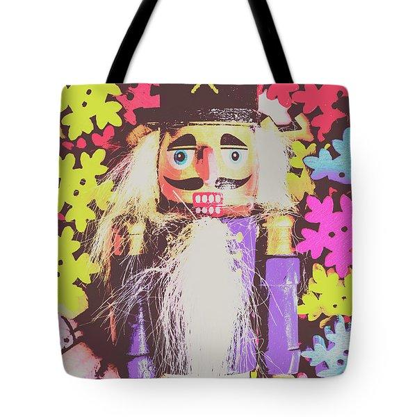 Christmas Nut Tote Bag