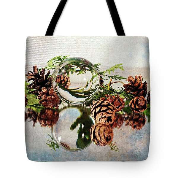 Tote Bag featuring the photograph Christmas Thoughts by Randi Grace Nilsberg