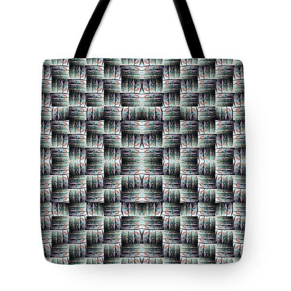 Tote Bag featuring the mixed media Chuarts Matiah by Clark Ulysse