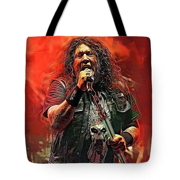 Chuck Billy, Testament Tote Bag