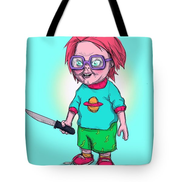 Chucky Finster Tote Bag
