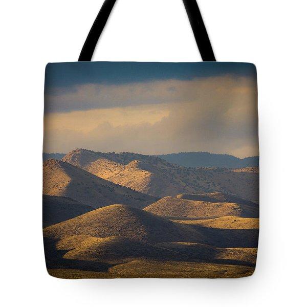 Chupadera Mountains II Tote Bag