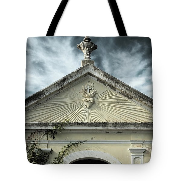 Church Entrance Tote Bag