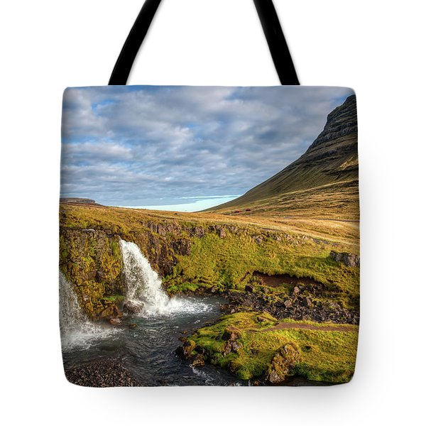 Tote Bag featuring the photograph Church Mountain by David Letts