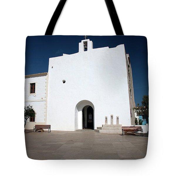 Church Of Sant Francesc Xavier, Formentara Tote Bag