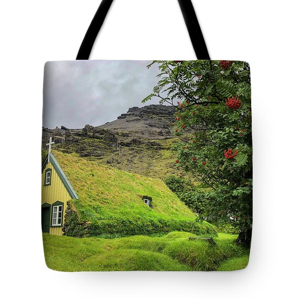 Church Of The Holy Moss Tote Bag